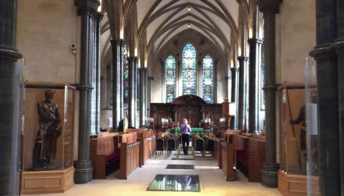 The Temple Church in London