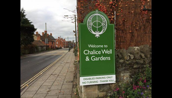 The Chalice Well Glastonbury, UK