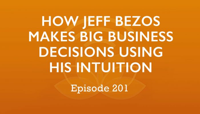How Jeff Bezos Makes Big Business Decisions Using His Intuition - Episode #201
