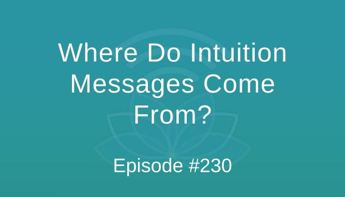 Where Do Intuition Messages Come From? - Episode #230