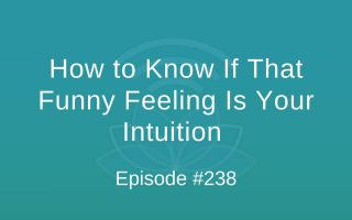 How to Know If That Funny Feeling Is Your Intuition - Episode #238